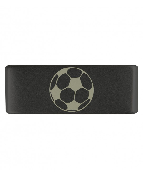 Бейдж footbal black 13mm