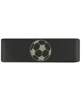 Бейдж footbal black 19mm