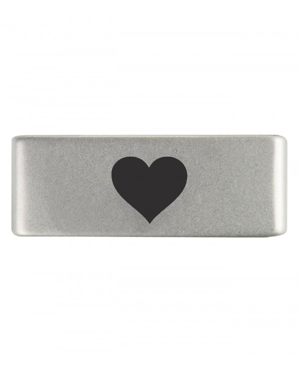 Бейдж heart natural 13mm